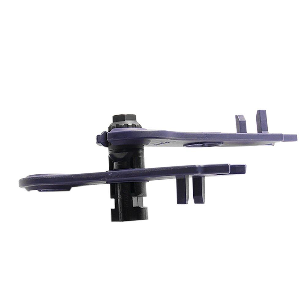 Llave MC4,Roeam 1 par Llave para conectores solar panel Llaves inglesas ABS Llave pl/ástica de bolsillo