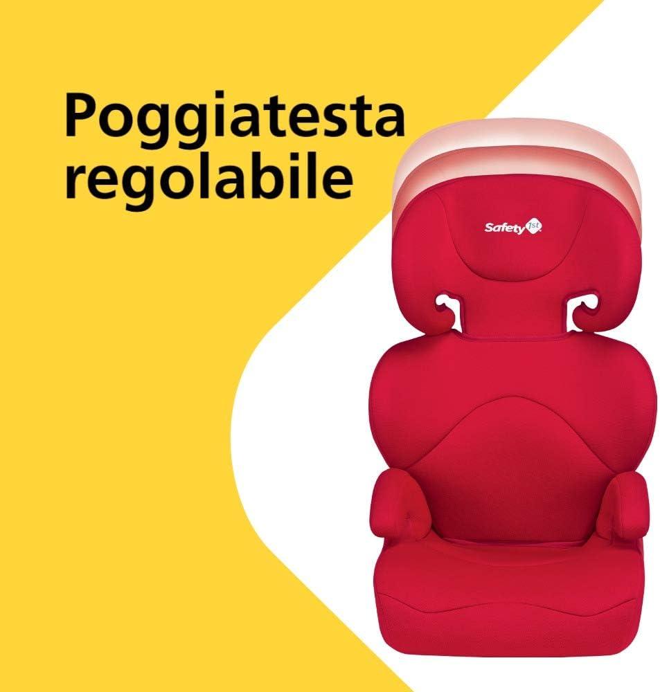 Reclinabile e Facile da Installare per Bambini da 3.5 a 12 Anni Rosso Safety 1St Road Safe Seggiolino Auto 15-36 kg Gruppo 2//3