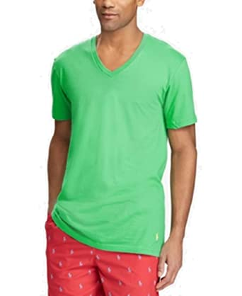 07c8a342 Image Unavailable. Image not available for. Color: Polo Ralph Lauren Men's Classic  Fit V-Neck T-Shirts, 3-Pack