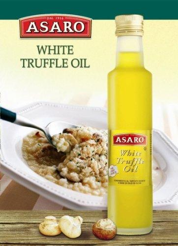 Asaro White Truffle Oil - Pack of 6 (250 ml each bottle) by Asaro
