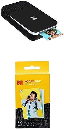 Kodak Smile Fotodrucker Für Smartphone Tintenloser Kamera