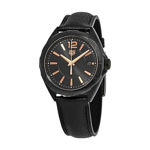 Tag Heuer Formula 1 WBJ1314.FC8230 - Reloj de Pulsera para Mujer, Esfera Negra, Color Negro: Amazon.es: Relojes