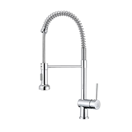 Home Show Copper Pull Out Bar Sink Kitchen Faucet Pull Down Sprayer Mixer Tap Kitchen Faucet Chrome C03 1077