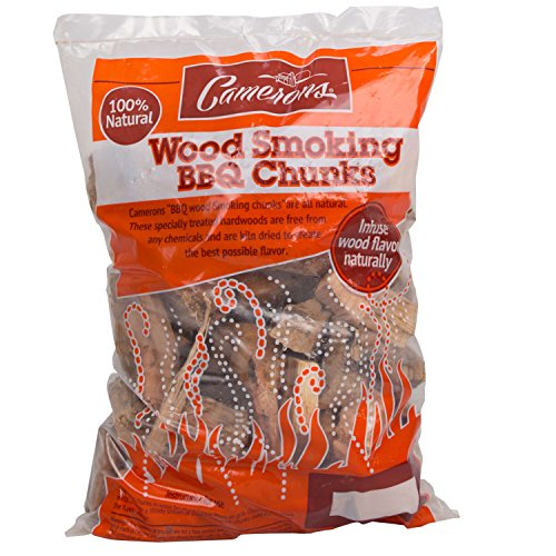 Camerons Products Maple Wood Cooking Chunks- BBQ Wood Chunks for Grilling and Smoking- Small Bag by - Maple Wood Chunks