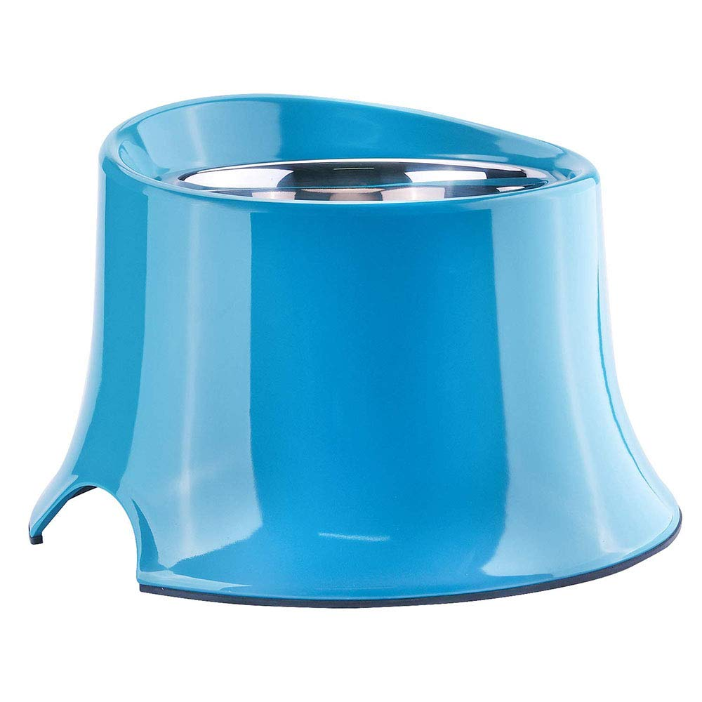 Small Stainless Steel Dog Bowls, Non-Slip Pet Bowls, Elevated Dog Bowl Raised Dog Feeder for Food and Water,S