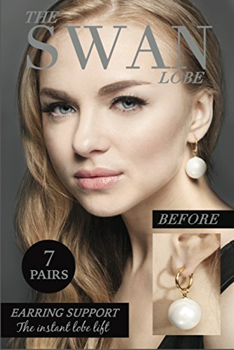 The Swan Lobe Earring Supports product image