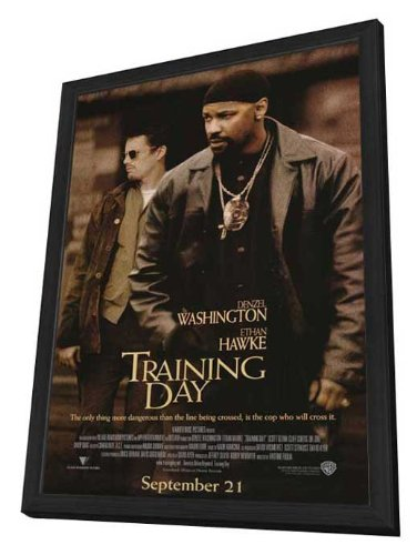 Amazon Training Day 27 X 40 Framed Movie Poster Posters Prints