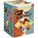 Toysmith Neato! Classics 160 Marbles In A Tin Box by Toysmith - Retro Nostalgia Glass Shooter, Marble Games Are Timeless Play For Kids - Boys & Girls [Amazon Exclusive]
