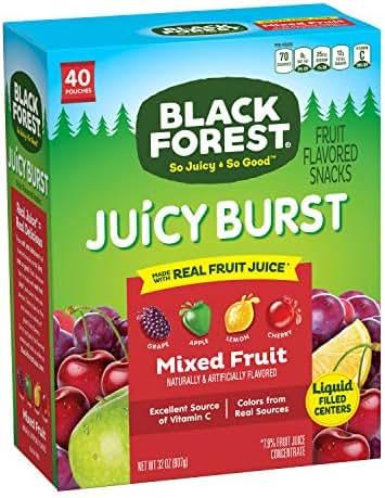 Fruit Snacks: Black Forest Juicy Burst
