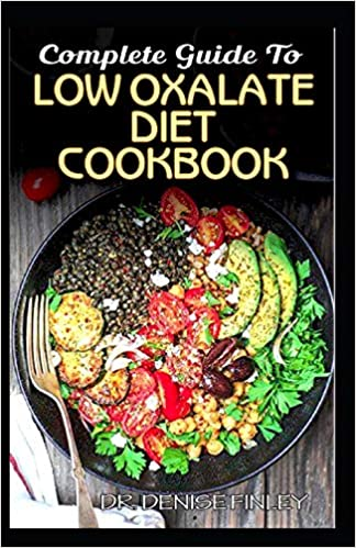 low oxalate diet recipes books