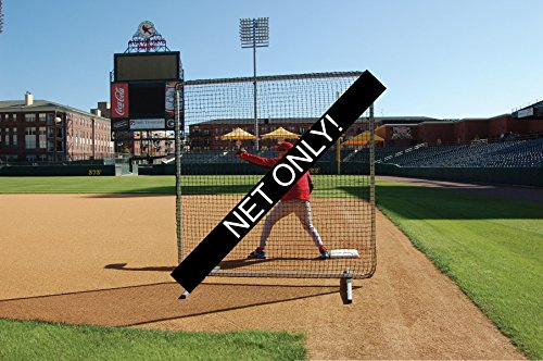 Trigon Sports Procage 1st Base/Fungo Replacement Net, 7 x 7-