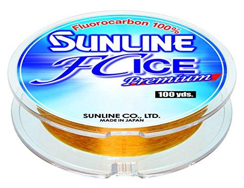 Sunline 63042350 FC Ice Premium 1 Lb FC Ice Premium, Gold, 100 yd