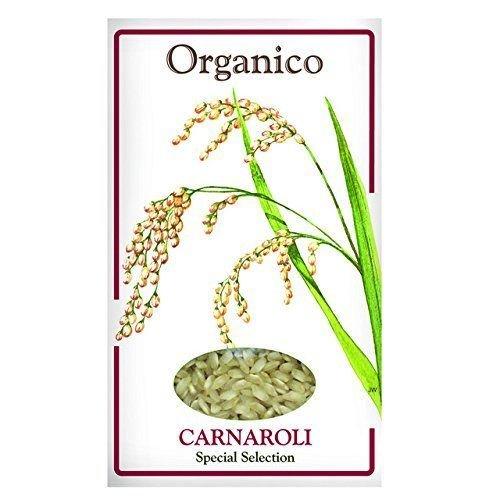 Organico Organic Carnaroli (Risotto) Rice 500g (Pack of 3)