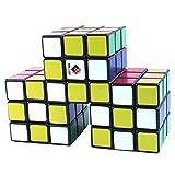 CubeTwist Siamese 3 - 3x3x3 Black Triple Conjoint Puzzle Cube Twisty Puzzle 3x3