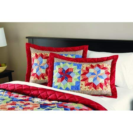 Mainstay Shooting Star Classic Patterned Quilt, StandardSham