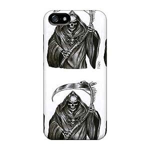 KOKOJIA JTc3157PsaH Premium Iphone 5/5s Cases(grim Reaper)