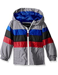 Little Boys' Toddler Chest Stripe Poly Lined Jacket