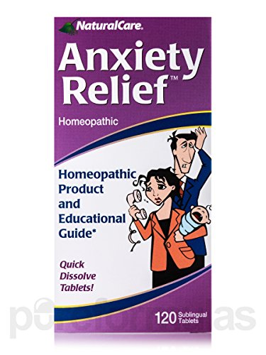 NaturalCare Anxiety Relief 120 tabs product image