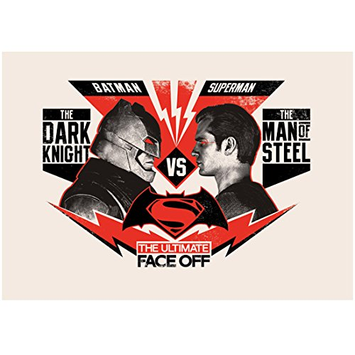 Batman V Superman: Dawn of Justice (2016) (8 inch by 10 inch) PHOTOGRAPH Fight Poster 3 kn