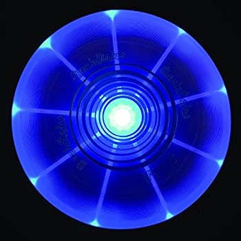Nite Ize Flashflight Led Light Up Flying Disc, Glow In The Dark For Night Games, 185g, Blue 1