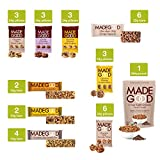 MadeGood Healthy Snacks Chocolate Variety Pack - 33 Mix Count Granola Bars, Minis, Cookies, Crispy Squares, Light Granola – Favorite Flavors from Chocolate Chip to Chocolate Banana; Vegan, Gluten Free