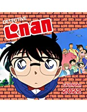 Detective Conan Calendar 2022: Anime-Manga OFFICIAL Calendar 2021-2022 ,Calendar Planner 2022-2023 with High Quality Pictures for Fans Around the World!