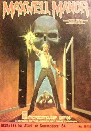 Maxwell Manor: Skull of Doom - Commodore 64