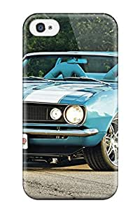 Durable Defender Case For Iphone 4/4s Tpu Cover(chevy)