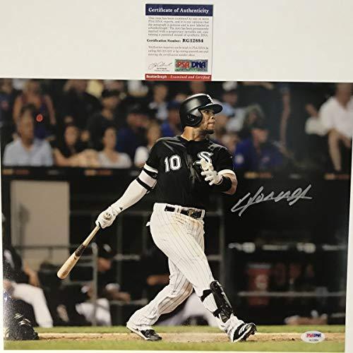Autographed/Signed Yoan Moncada Chicago White Sox 11x14 Baseball Photo PSA/DNA COA #3 ()