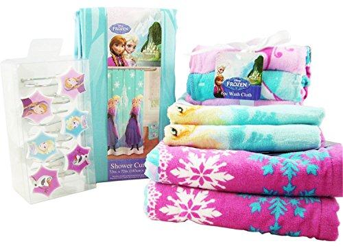 Disney Frozen 23 Piece Bath Set - Frozen Bathroom Decor: Amazon.com