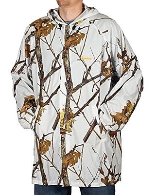Gamehide Ambush Snow Camo Cover Up Jacket Woodlot White