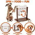 Interactive Dog Food Puzzle Toy - Treat Dispensing Slow Feeder