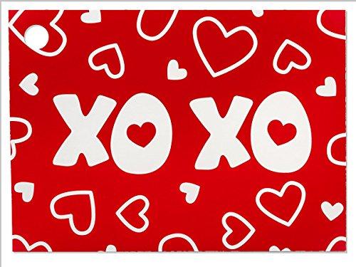 [해외]xoxo 소 테마 기프트 카드 (6 팩) 3-34 × 2-34 / XOXO Theme Gift Cards (6 Pack) 3-34 x 2-34