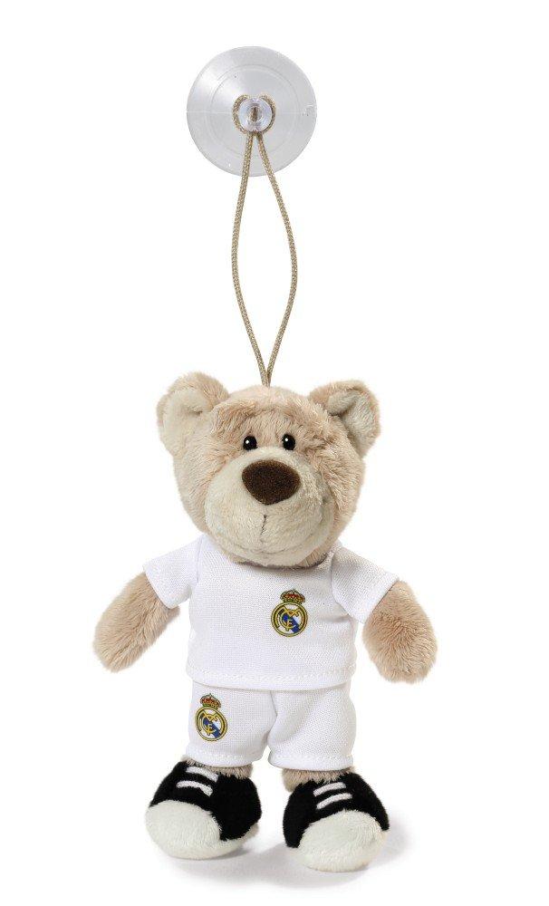 Real Madrid 15 cm NICI 16731 Osito de Peluche con Ventosa