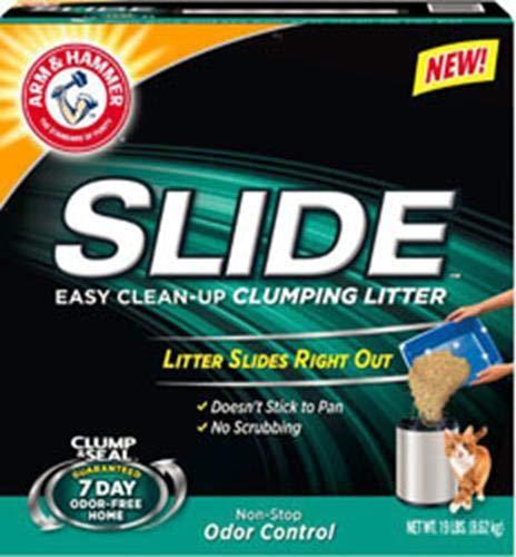 Non-Stop 19 lb Non-Stop 19 lb Arm & Hammer Non-Stop Odor Control Slide Easy Clean-Up Litter, 19 Lbs