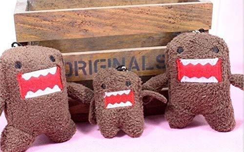 LQT Ltd 3 pcs Size Bigger 75CM Domo KUN Plush Stuffed Toy String Charm Strap Pendant Keychain Doll , Wedding Toy Bouquet Toy (VER)