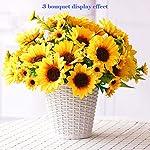 Artfen-Artificial-Sunflower-Bouquet-1-Bunch-Artificial-Silk-Flower-Plant-Home-Hotel-Office-Wedding-Party-Garden-Craft-Art-Decor-13-inch-High