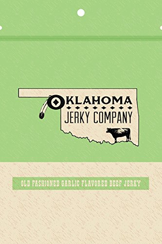 Old Fashioned Style Gluten Free Garlic Beef Jerky - 5 PACK - No Frills Tough and Dry Style Beef Jerky - All Natural, No Added Preservatives and No Added MSG - 15 total oz.