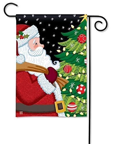 Breeze Art サンタ承認クリスマスガーデンフラッグ 31788 B07GNX8H6L