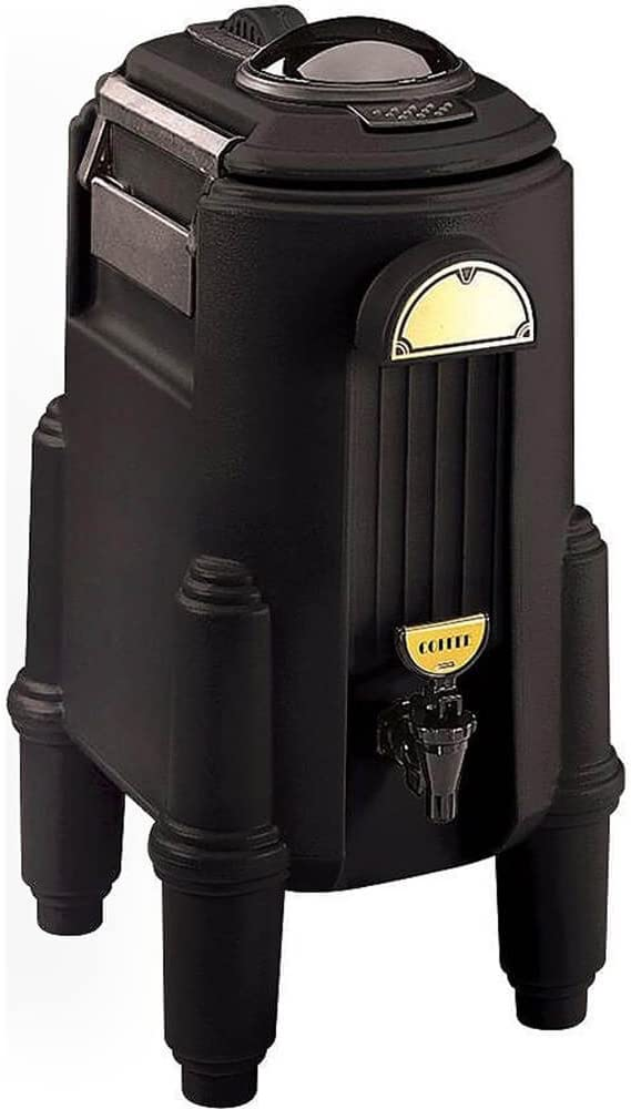 Cambro CSR5110 Black 5 Gallon Insulated Beverage CamServer Case of 1