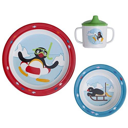 Rä tt Start Pingu Design Children's Tableware Gift Box, 3-Piece Rätt Start AB 8315
