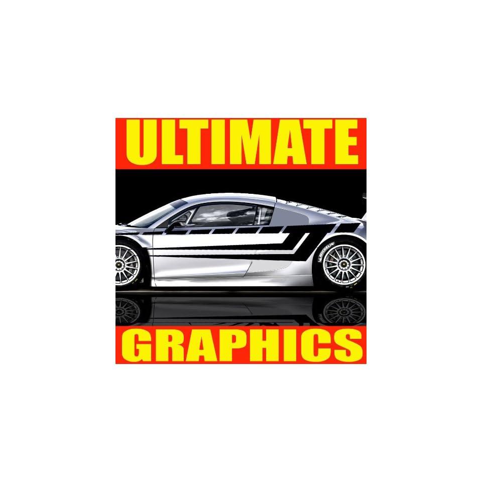 ULTIMATE GRAPHICS BODY VINYL DECAL STICKER CAR AUTO TRUCK BOAT U03