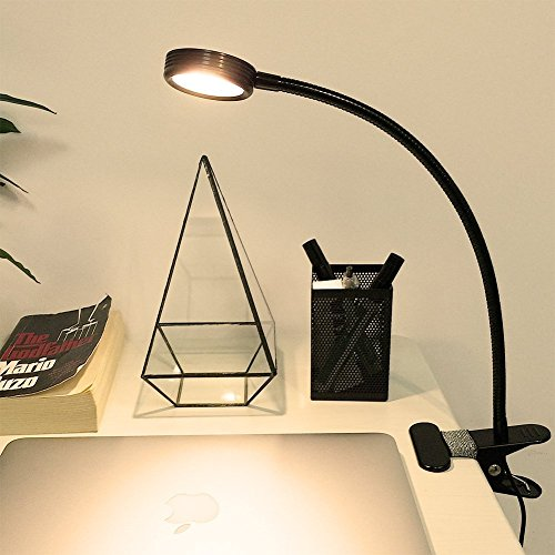 LEPOWER® Super Bright Clip on Light/ Light Color Changeable/ Night Light Clip on for Desk, Bed Headboard and Computers