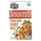Organic Sprouted Rice; Thai Red Curry , Pack of 6