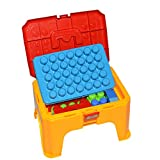Puzzle DIY Construction Set /Building Blocks with Storage Chair,Funny Summer Sport beach Toys for kids