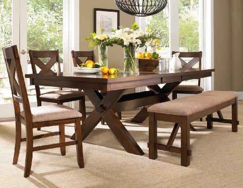 Dining Tables Set Bench: Amazon.com