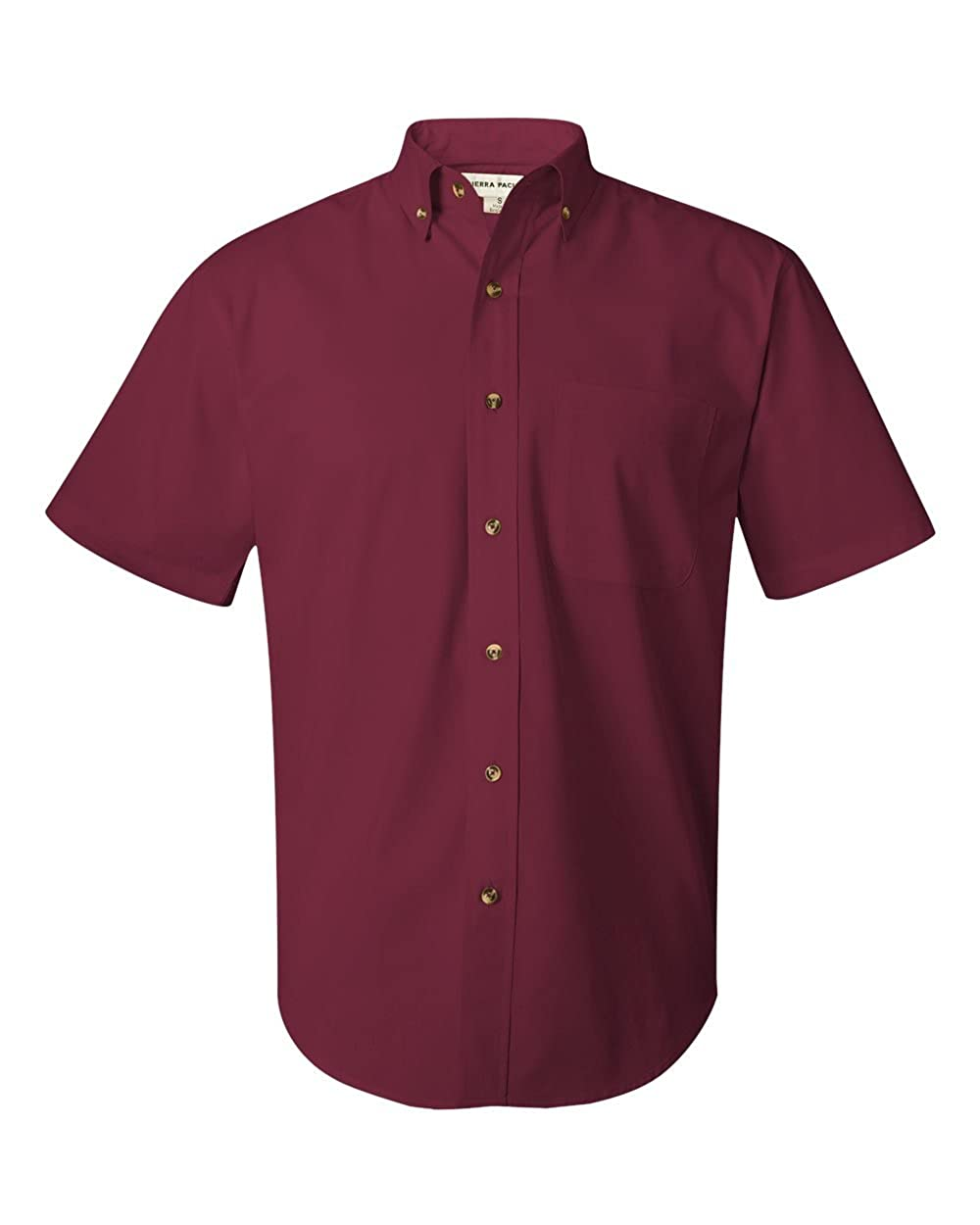 FeatherLite Short Sleeve Stain-Resistant Twill Shirt 0281