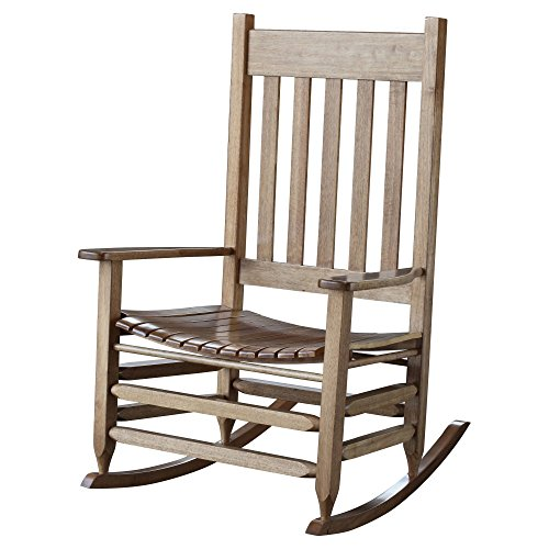 Hinkle Chair Company Stained Plantation Jumbo Rocking Chair, Maple