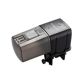 UKCOCO Alimentador Automático para Acuario con Teledirigido de WiFi, Dispensador de Alimentos de Pescados a Prueba de Humedad para el Tanque de Pescados ...