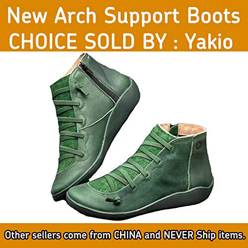 Yakio 2019 New Arch Support Boots (10.5, Green) (Best Wading Boot 2019)